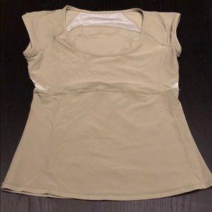 Lululemon  cap sleeve shirt size 8